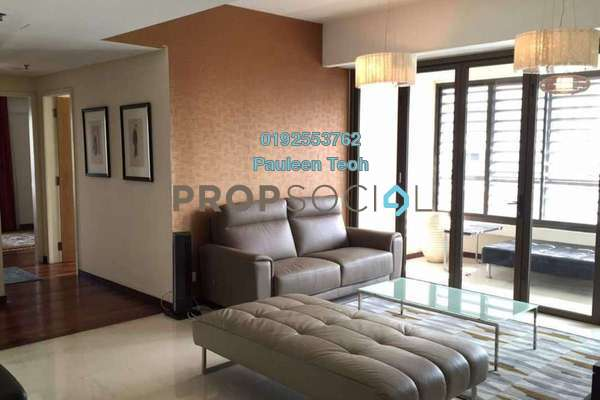 For Rent Serviced Residence at i-Zen Kiara II, Mont Kiara Freehold Fully Furnished 3R/3B 5.5k