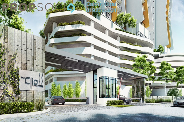 For Rent Condominium at The Clio Residences, IOI Resort City Freehold Unfurnished 3R/3B 1.8k