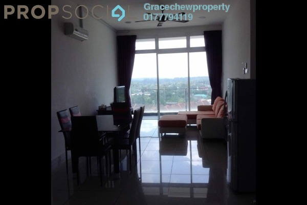 For Rent Serviced Residence at The Senai Garden, Senai Freehold Fully Furnished 3R/2B 1.7k