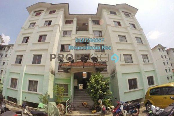 For Rent Apartment at Residensi Warnasari, Puncak Alam Freehold Semi Furnished 3R/2B 650translationmissing:en.pricing.unit