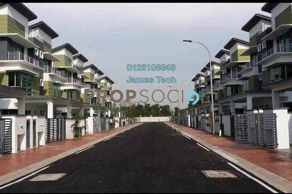For Sale Terrace at Taman Sungai Jati, Klang Freehold Unfurnished 5R/4B 748k