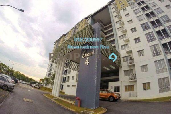 For Sale Apartment at Seri Baiduri, Setia Alam Freehold Unfurnished 3R/2B 320k