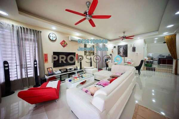 For Sale Semi-Detached at Taman Aman Perdana, Meru Freehold Semi Furnished 4R/3B 838k
