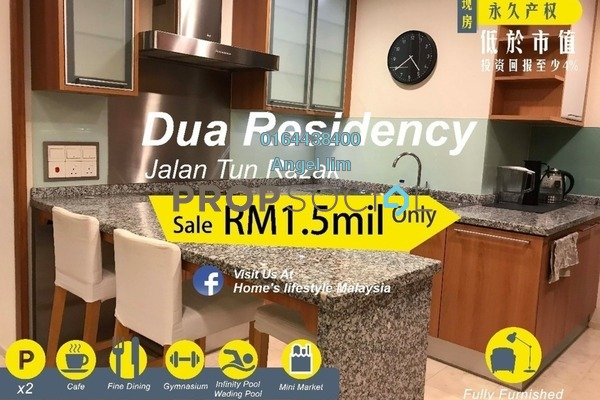 For Sale Condominium at Dua Residency, KLCC Freehold Fully Furnished 4R/4B 1.5m