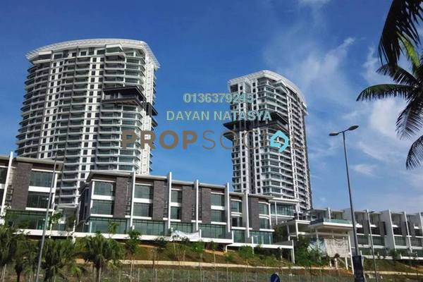 For Sale Serviced Residence at Cristal Residence, Cyberjaya Freehold Semi Furnished 4R/3B 720k