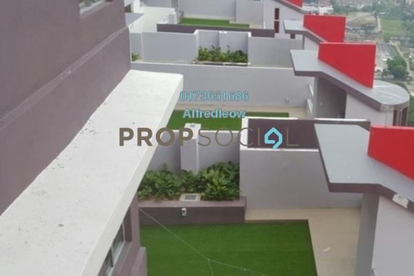 For Rent Condominium at Platinum Lake PV21, Setapak Freehold Semi Furnished 2R/2B 1.7k