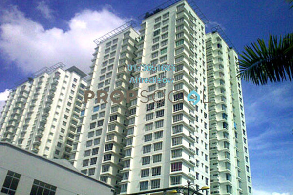 For Rent Condominium at Selayang Point, Selayang Freehold Semi Furnished 3R/2B 1.4k