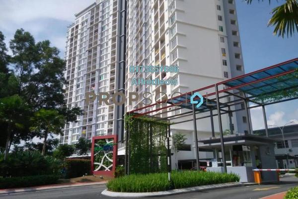 For Rent Condominium at Suasana Lumayan, Bandar Sri Permaisuri Freehold Semi Furnished 4R/2B 1.5k