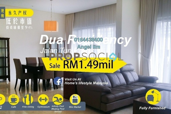 For Sale Condominium at Dua Residency, KLCC Freehold Fully Furnished 4R/4B 1.49m