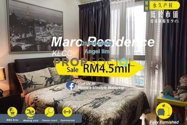 For Sale Condominium at Marc Service Residence, KLCC Freehold Fully Furnished 5R/6B 4.5m