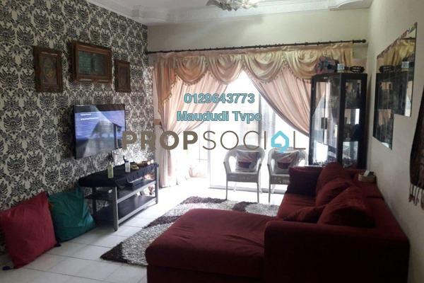 For Sale Apartment at Menara Menjalara, Bandar Menjalara Freehold Semi Furnished 3R/2B 410k