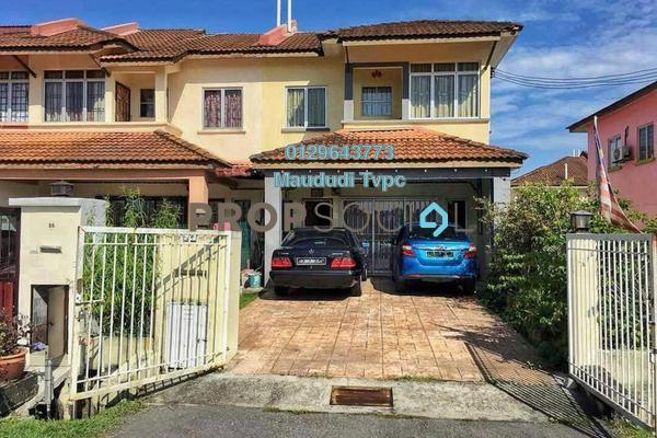 For Sale Terrace at Bandar Tasik Puteri, Rawang Freehold Semi Furnished 5R/3B 390k