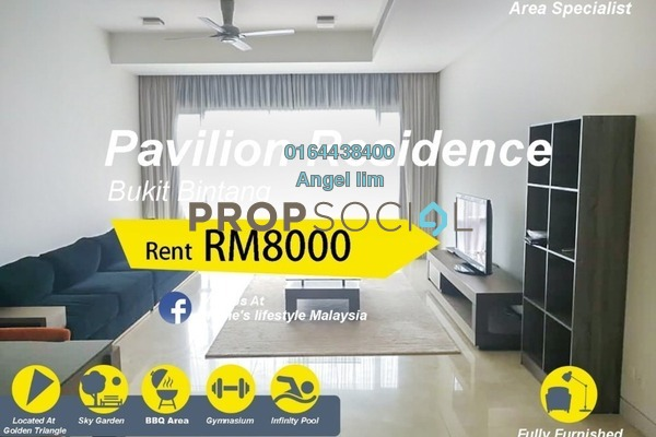 For Rent Condominium at Pavilion Residences, Bukit Bintang Freehold Fully Furnished 2R/2B 8k