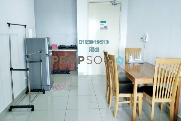For Rent Serviced Residence at De Centrum Residences, Kajang Freehold Fully Furnished 2R/1B 1.5k