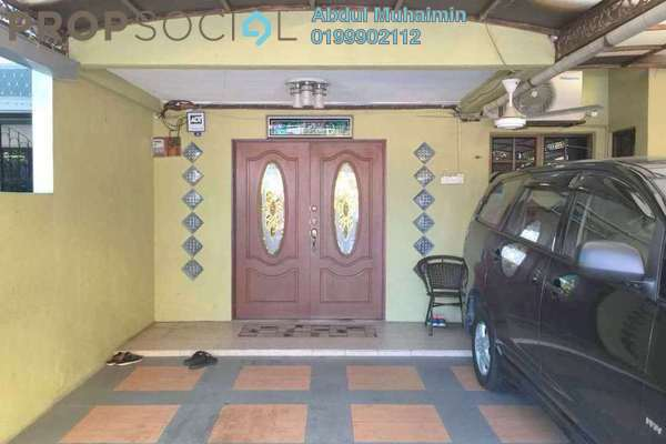 For Sale Terrace at Danau Kota, Setapak Freehold Semi Furnished 3R/2B 680k