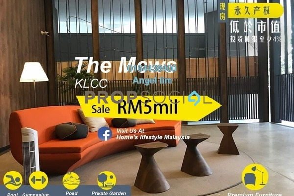 For Sale Condominium at The Mews, KLCC Freehold Fully Furnished 4R/3B 5m