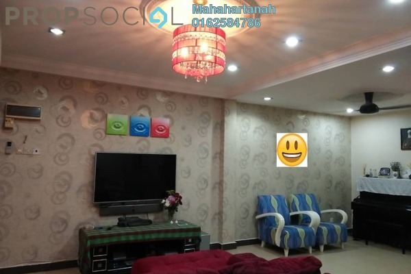 For Sale Terrace at Taman Jelok Indah, Kajang Freehold Semi Furnished 4R/3B 559k