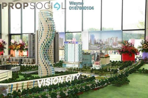 For Sale Serviced Residence at Nilai Vision City, Putra Nilai Freehold Semi Furnished 1R/1B 220k