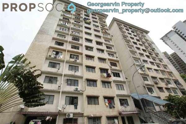 For Rent Apartment at Desa Sri Puteri Apartments, Desa Petaling Freehold Unfurnished 3R/2B 1k