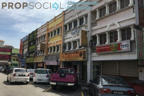 For Sale Shop at Taman Sri Rampai, Setapak Freehold Semi Furnished 1R/6B 1.65m