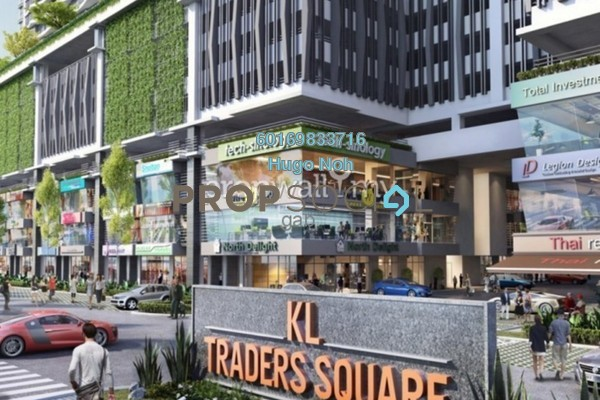 For Sale Condominium at KL Traders Square, Kuala Lumpur Freehold Semi Furnished 3R/2B 428k
