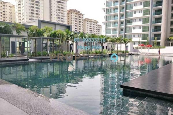 For Sale Condominium at Ascenda Residence @ SkyArena, Setapak Freehold Semi Furnished 3R/2B 500k