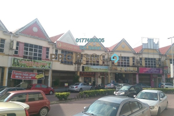 For Rent Shop at Taman Flora Utama, Batu Pahat Freehold Unfurnished 0R/1B 1.8k