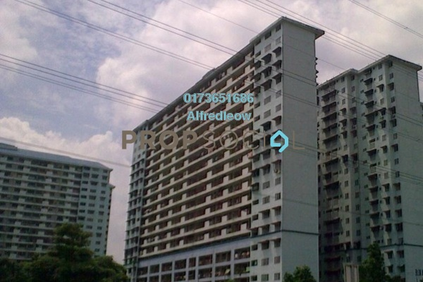 For Sale Apartment at Danau Kota, Setapak Leasehold Unfurnished 3R/2B 180k