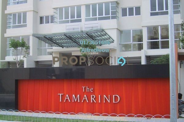 For Sale Condominium at The Tamarind, Sentul Freehold Fully Furnished 4R/3B 600k