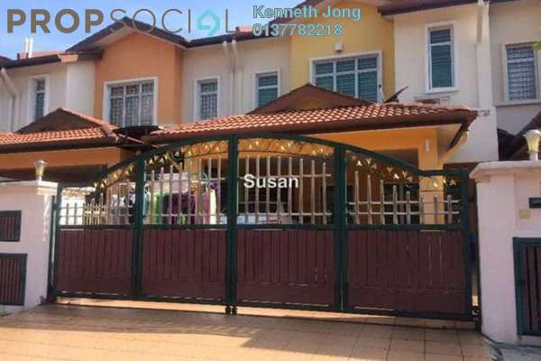 For Sale Terrace at Canal Gardens, Kota Kemuning Freehold Semi Furnished 4R/4B 1.1m