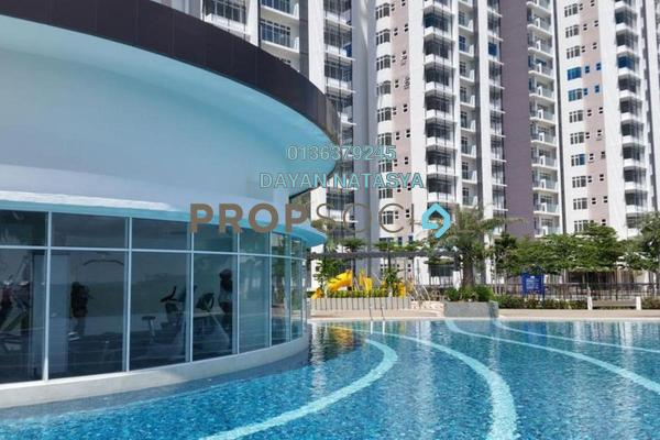 For Sale Serviced Residence at Dwiputra Residences, Putrajaya Freehold Unfurnished 3R/3B 515k