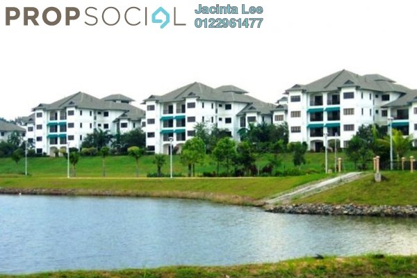 For Sale Condominium at Cyber Heights Villa, Cyberjaya Freehold Semi Furnished 5R/2B 454k