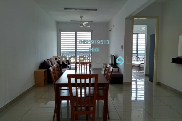 For Rent Serviced Residence at De Centrum Residences, Kajang Freehold Fully Furnished 3R/2B 2k