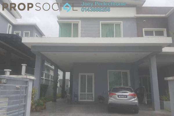 For Sale Semi-Detached at Wira Heights, Bandar Sungai Long Freehold Semi Furnished 5R/6B 1.82m