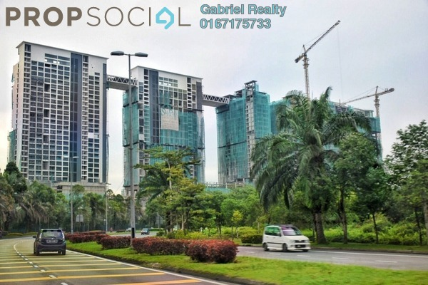 For Sale Condominium at Sky Park, Cyberjaya Freehold Fully Furnished 2R/2B 650k