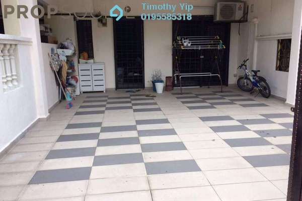 For Sale Terrace at Taman Cheras Hartamas, Cheras Freehold Semi Furnished 4R/3B 599k