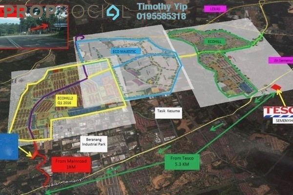 For Rent Land at Beranang Industrial Park, Semenyih Freehold Unfurnished 0R/0B 12.3k