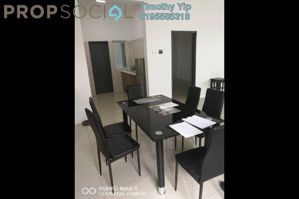 For Rent Condominium at Mahkota Garden Condominium, Bandar Mahkota Cheras Freehold Fully Furnished 3R/2B 1.25k