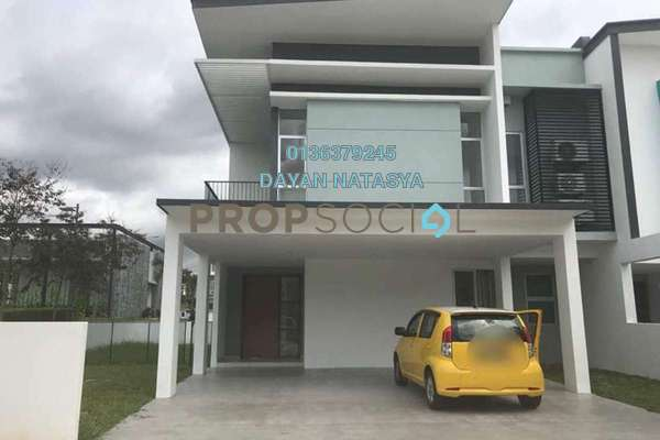 For Sale Superlink at Parkfield Residences @ Tropicana Heights, Kajang Freehold Semi Furnished 4R/3B 1.2m