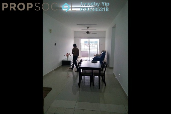 For Sale Condominium at Kinrara Mas, Bukit Jalil Freehold Semi Furnished 3R/2B 395k