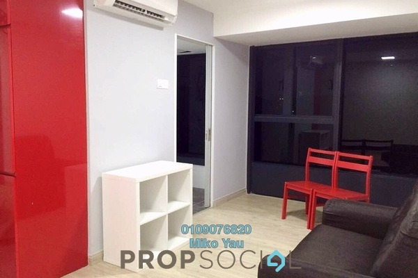 For Rent SoHo/Studio at Empire City, Damansara Perdana Freehold Semi Furnished 1R/1B 1.1k