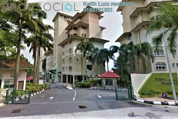 For Rent Condominium at Lojing Heights 1, Wangsa Maju Freehold Fully Furnished 1R/1B 1.5k