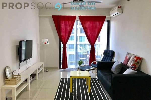 For Rent Condominium at Univ 360 Place, Seri Kembangan Freehold Fully Furnished 2R/2B 1.8k