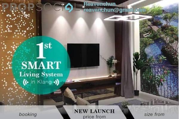 For Sale Serviced Residence at Gravit8, Klang Freehold Unfurnished 3R/2B 600k