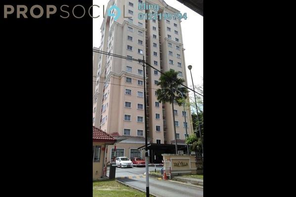 For Rent Apartment at TAR Villa, Setapak Freehold Fully Furnished 3R/2B 1.3k