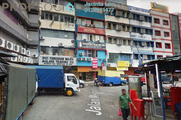 For Sale Shop at Jalan Masjid India, Dang Wangi Freehold Semi Furnished 0R/10B 4.56m
