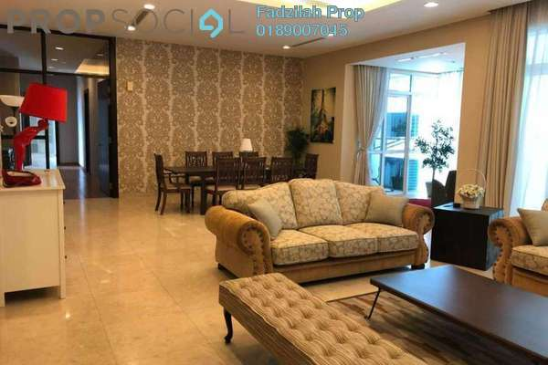 For Rent Condominium at The Pearl, KLCC Freehold Fully Furnished 3R/5B 9k
