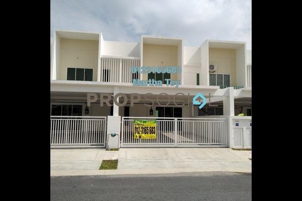 For Rent Terrace at Elvina, Bandar Sri Sendayan Freehold Semi Furnished 4R/4B 1.7k