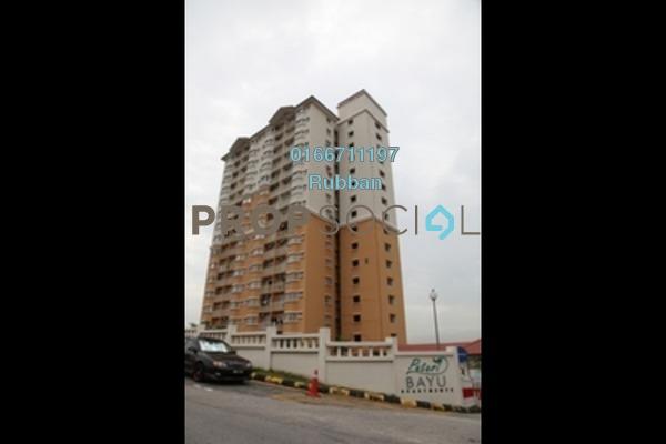 For Rent Condominium at Puteri Bayu, Bandar Puteri Puchong Freehold Semi Furnished 3R/2B 1.3k