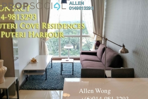 For Rent Condominium at Imperia, Puteri Harbour Freehold Fully Furnished 1R/1B 2.8k